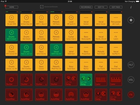 Launchpad update – Novation add new FX options to their loop-based music production app | Music education and music technology | Scoop.it