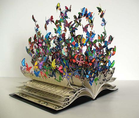 Bookmarking Book Art -- David Kracov | Books On Books | Scoop.it