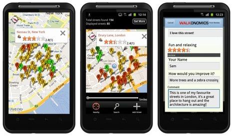 Using Smartphones to Improve Walkability | green streets | Scoop.it
