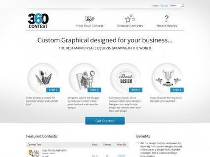Agriya Developed Logotournament clone script- 99designs