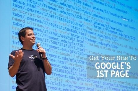 24 Point SEO Plan To Get Your Site To Google's 1st Page   Asuntos de Interés   Scoop.it