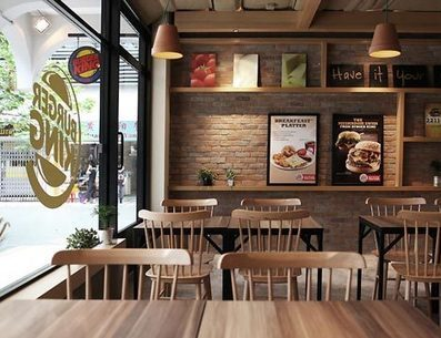 BURGER KINGS LATEST RESTAURANT ABROAD SPORTS M