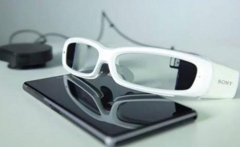 Sony lanza su primer prototipo de lentes inteligentes   Techno World   Scoop.it