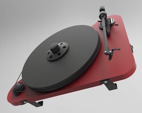 Test Pro-Ject VTE : platine vinyle verticale... oui, mais également musicale | ON-TopAudio | Scoop.it