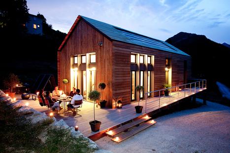 Une maison d'architecte pour  tous !   Ageka les matériaux pour la construction bois.   Scoop.it