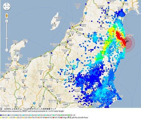 What the NRC really knew about Fukushima - SmartPlanet.com (blog) | Mapping & participating: Fukushima radiation maps | Scoop.it