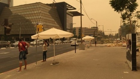 After days of choking dust, Israel sees end to sandstorm | Jewish Education Around the World | Scoop.it