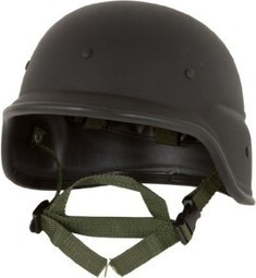 523edead30 Modern Warrior Tactical M88 ABS Helmet with Adjustable Chin Strap (Black)