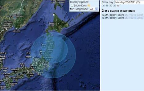 [Eng] Déjà 2 séismes de fortes magnitudes ce lundi au Japon | Japan Meteorological Agency | Japon : séisme, tsunami & conséquences | Scoop.it