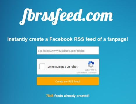 "FBrssfeed: a ""Facebook Page to RSS"" online solution 