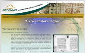 La mise en ligne de l'état civil du département des Ardennes (08) est imminente.   Archives en lignes   GenealoNet   Scoop.it