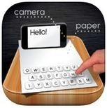 Type Virtually with the Paper Keyboard | 21st Century Technology Integration | Scoop.it