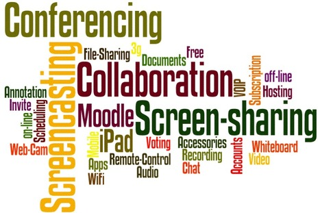 Conferencing and collaborating via iPad - Xerte HTML 5 | eLearning tools | Scoop.it