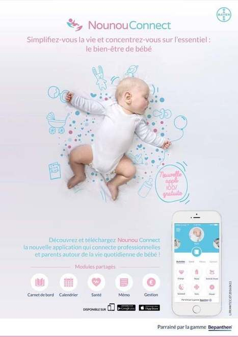 Bayer lance l'application Nounou Connect | Geeks | Scoop.it