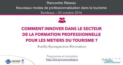 RENCONTRE BORDEAUX LE 3 OCTOBRE : Comment innover dans le secteur de la formation professionnelle pour les métiers du tourisme ? | Professionnalisation tourisme | Scoop.it
