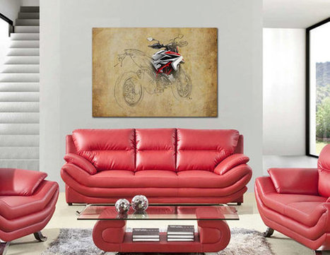 Ducati Art Poster on ETSY | Ductalk Ducati News | Scoop.it