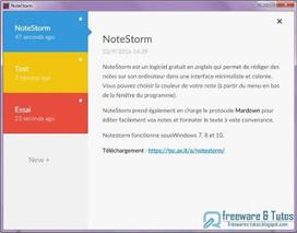 NoteStorm : un élégant logiciel de prise de notes | Evernote, gestion de l'information numérique | Scoop.it