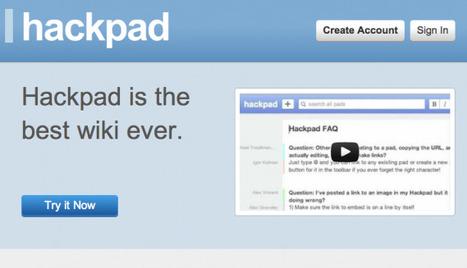 Hackpad in Education | #AusELT Links | Scoop.it