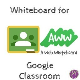 Google Classroom: Collaborate with Aww Web Whiteboard - Teacher Tech | computer tools | Scoop.it