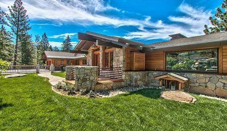 39 maison bois et pierre 39 in construire tendance. Black Bedroom Furniture Sets. Home Design Ideas