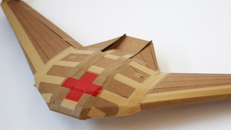 These paper-airplane drones may one day save your life | Heron | Scoop.it