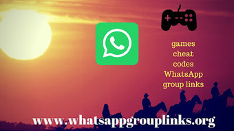JOIN GAMES CHEAT CODES WHATSAPP GROUP LINKS LIS