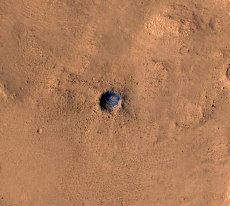 Mars Lander Crash | Lauri's Environment Scope | Scoop.it