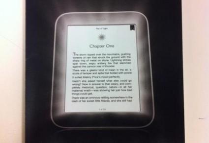 New Nook to Have Front-Lit Screen - The Digital Reader | Pobre Gutenberg | Scoop.it