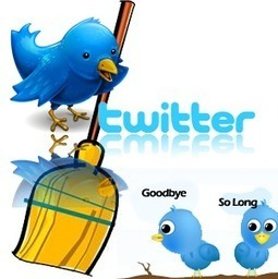 Old Twitter Followers That Haven't Tweeted Being Swept Away | Inspiring Social Media | Scoop.it