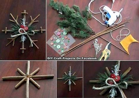 Une sélection de 37 décorations de Noël à réaliser avec les enfants | Parent Autrement à Tahiti | Scoop.it