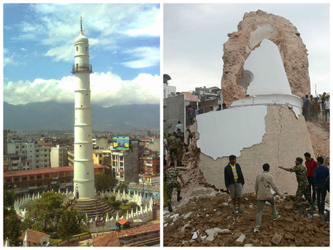 Nepal landmarks: Before and after the earthquake | Tread Lightly | Scoop.it