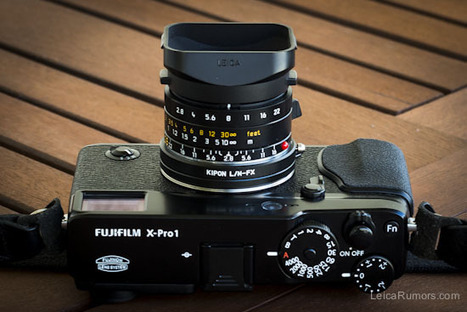 Using Leica M Lenses On The Fuji X Pro1 Camera With Kipon L FX Adapter