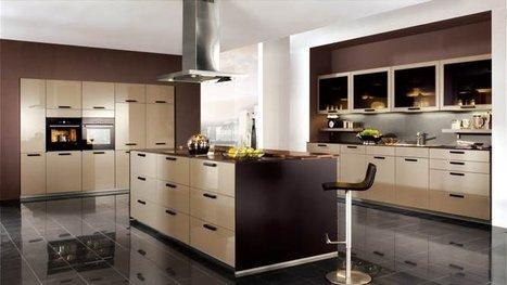 Une cuisine, deux couleurs | Solutions Maison |...