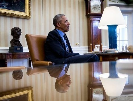 Obama's Secret to Surviving the White House Years: Books - NYTimes.com | Future Ready School Libraries | Scoop.it