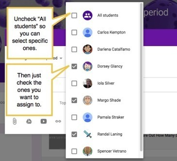 5 ideas for using Google Classroom's new differentiation and grouping feature | Transformational Teaching and Technology | Scoop.it