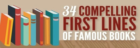The Opening Lines of the World's Most Famous Books | Daily Infographic | World's Best Infographics | Scoop.it