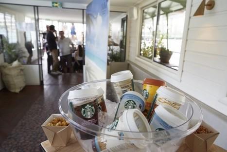 Starbucks propose aux parisiens de se rafraichir avec sa summer experience Chilled | streetmarketing | Scoop.it