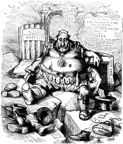 Political Machines Boss Tweed And The 17th Ame
