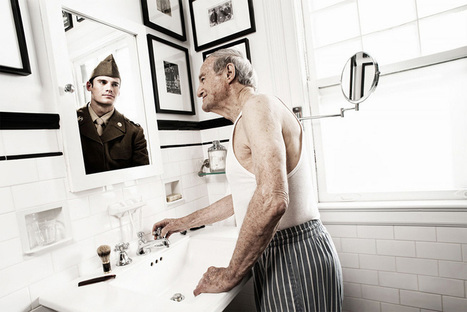 Elderly People Look At Their Younger Reflections In This Beautiful Photo Series By Tom Hussey | Digital Synopsis | How to find and tell your story | Scoop.it