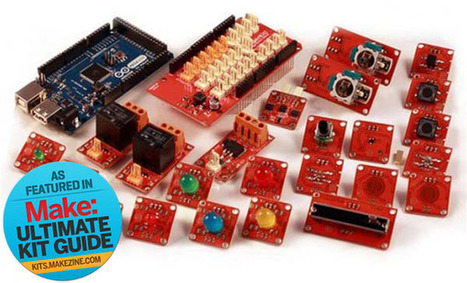 MAKE | Kit-A-Day Giveaway: Arduino ADK TinkerKit | Kids who design, tinker, prototype and create | Scoop.it
