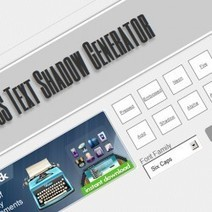 CSS3 Text Shadow | Graphics Generation Tools - handy sites to create more compelling graphics | Scoop.it
