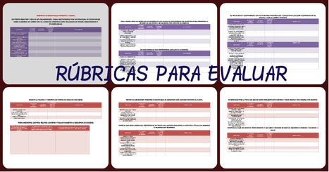 Rúbricas para evaluar: RÚBRICAS DE LENGUAJE Y COMUNICACIÓN  Y DESARROLLO PERSONAL Y SOCIAL - Imagenes Educativas | TIC - Recull de consells i recursos | Scoop.it