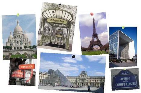 Visite à Paris - Webquest | Remue-méninges FLE | Scoop.it