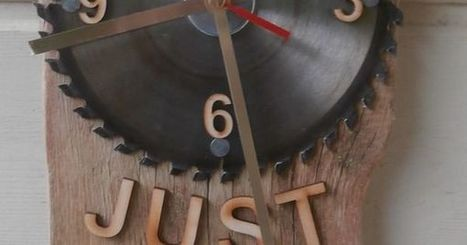 clocks / maps / | Upcycled Objects | Scoop.it