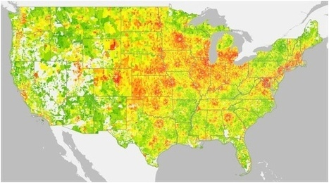 Beefing Up Population Density Won't Curb Greenhouse Gas Emissions - The Atlantic Cities | Digital Cartography | Scoop.it