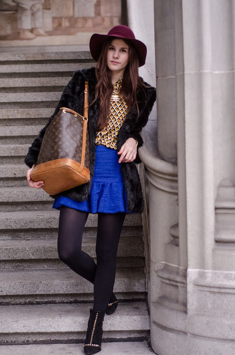 The Fashion Fraction: BRIGHT BLUE TUESDAY | Swiss fashion bloggers | Scoop.it