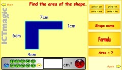 Area of 2D Shapes | Grade 5 Math Games | Scoop.it