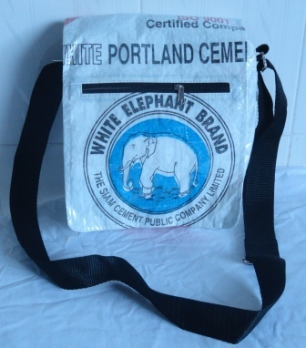 Eco-Friendly Elephant Cement Mini Shoulder Bag,ethically handcrafted | Eco-Friendly Messenger Bags By Disabled Home Based Workers. | Scoop.it