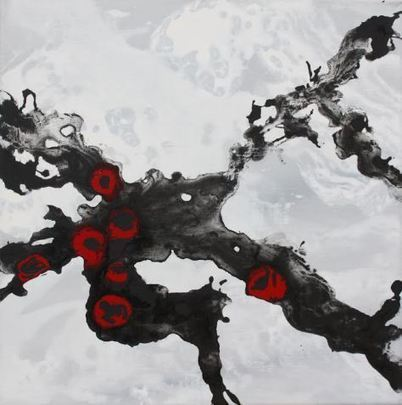 Odile Cariteau    Painter     France | VITRINART CHINA ( Vitrinart + ancient and contemporary Chinese arts ) | Scoop.it