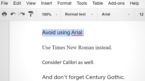 Three Fonts You Should Use Instead of Arial to Save Printer Ink | Bazaar | Scoop.it